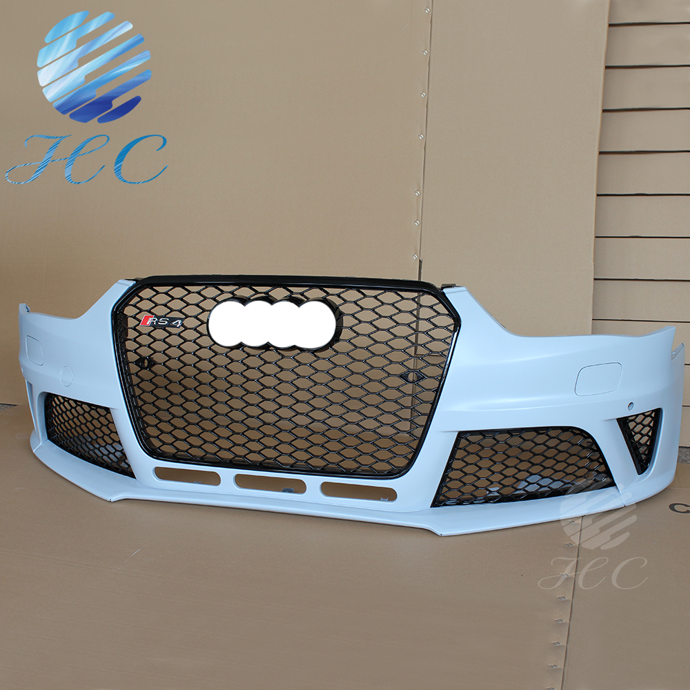 RS4 Body kit front bumper assembly for audi A4 to RS4