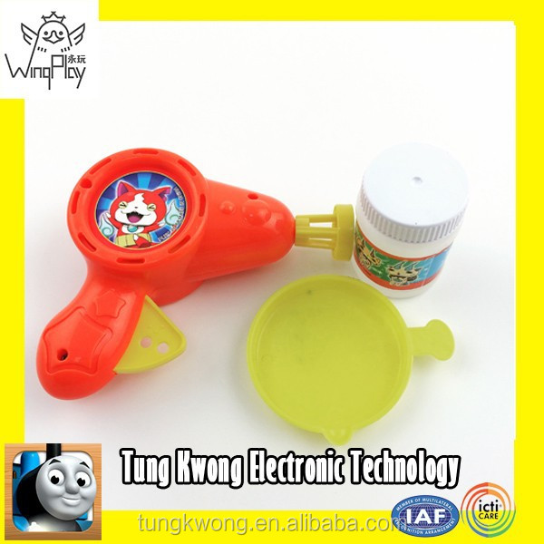 new product 2015 for kids first class quality plastic bubble toys wholesale toy gun plastic for kids