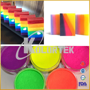 Low price color neon powder fluorescent pigment used in soap making