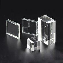 <span class=keywords><strong>Feng</strong></span> <span class=keywords><strong>shui</strong></span> Cristallo del Laser 3D In Bianco Cubo
