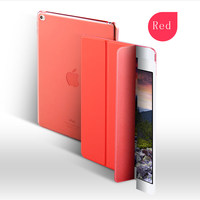 Joy Color New Arrival 9.7 inch Three-Fold Pu Leather Smart Tablet Case High New For ipad 2017