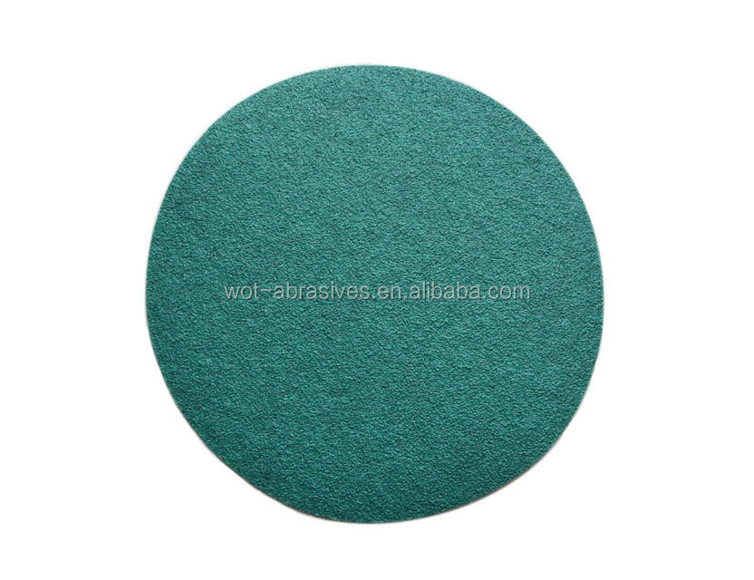 150mm Grit80 Green Sanding Disc Abrasive Polishing Sanding Disc Paper For Car Painted