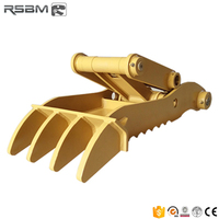 Wear-resistance RSBM01-50 excavator hydraulic thumb for 1-50T Excavator