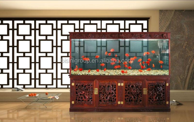 Design Aquarium Kast : Bisini chinese style classical aquarium fish tank cabinet bf
