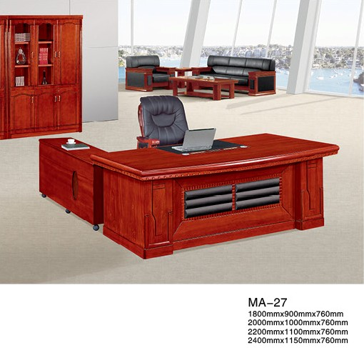 Executive office desk design wooden office desk BOSS desk MA-27