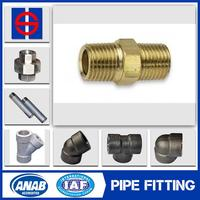 Seamless ductile iron pipe fitting for pluming