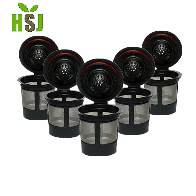 Keurig 1,0 & 2,0 k Tassenkorb-Stil, permanenter Kaffeefilter, 4 Stück / Karton