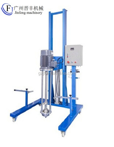 Guangzhou Jinfeng Electric or pneumatic movable lifting type homogenizer for biology engineering and medical science