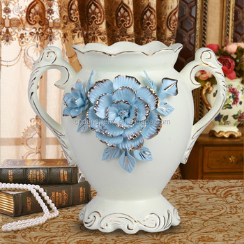 Wholesale Royal Home Decor Ceramic Amphora VaseHandmade Buy