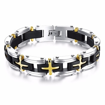 Chain Boys Bracelet Latest Design Stainless Steel Mens Fashion