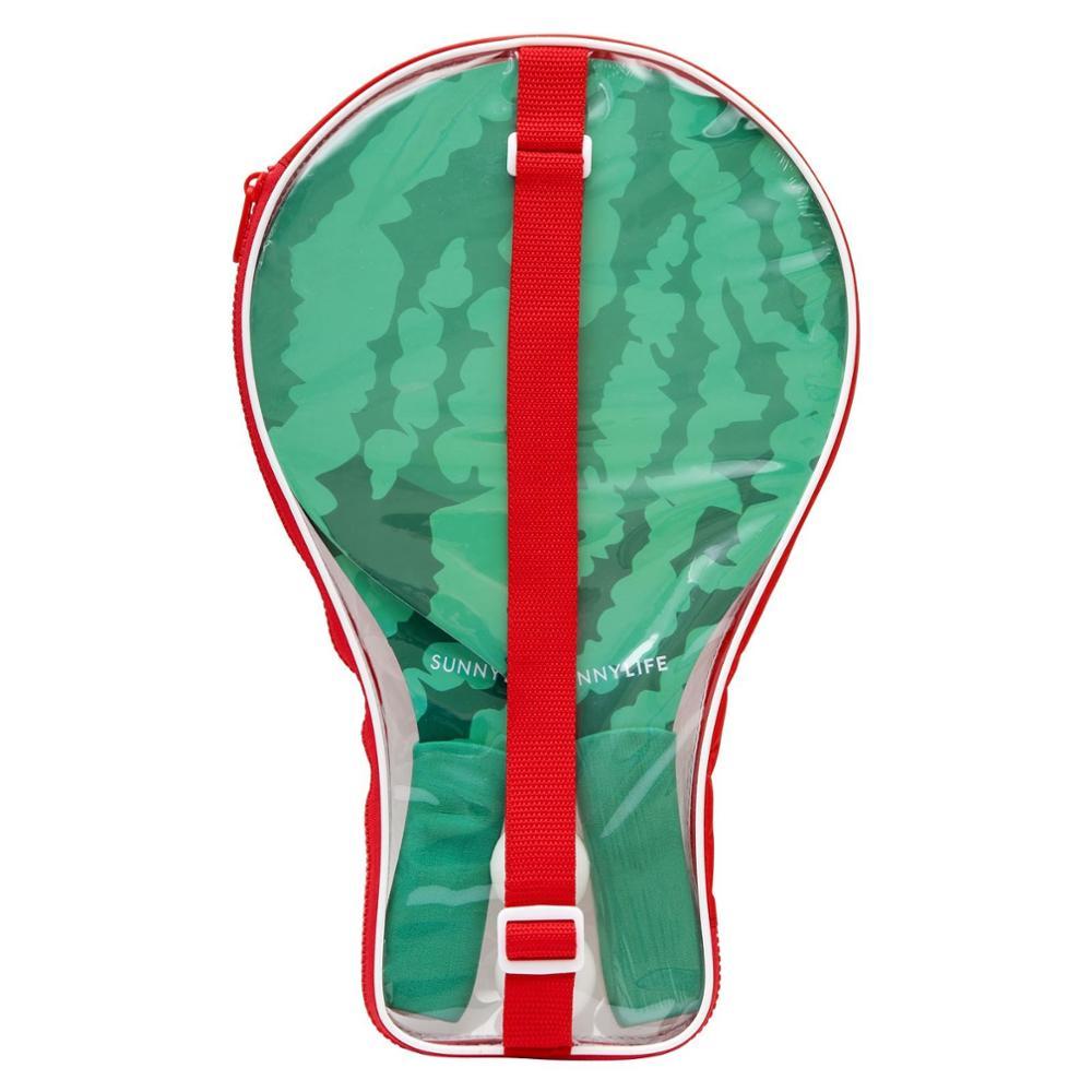 Пляжный весло мяч набор поставляется с 2 весла и 1 мяч в упаковке для переноски