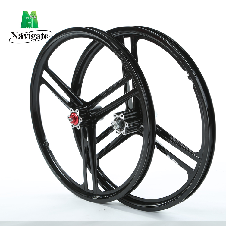 lightweight bike wheels High quality die casted 20 inch road bicycle wheel for folding bicycle