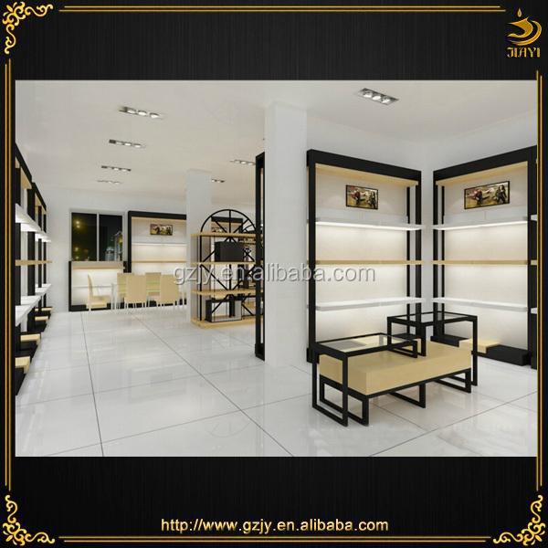 2017 Unique Design Wall Showcase With Shoe Shop Decoration Ideas In Shop Interior Design