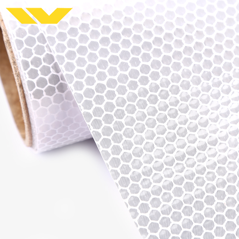 Prisamatic Printable Honeycomb Pattern Non Adhesive Reflective Sheeting for AD Banner