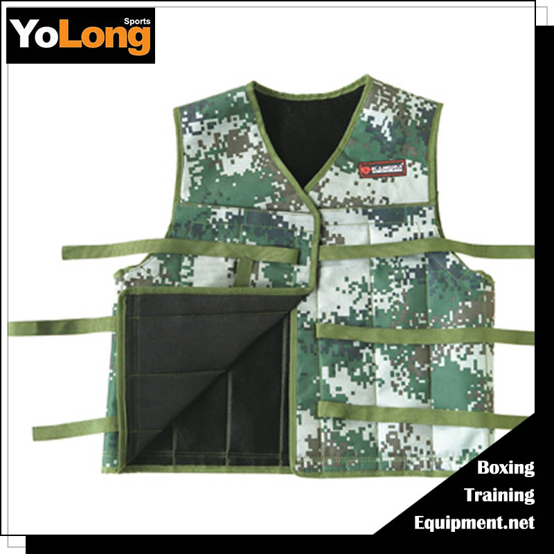 Adjustable high quality training 5kg 8kg 10kg weight vest