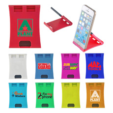 Wholesale custom new design pocket hard plastic rectangular shaped fold up skid resistance phone holder