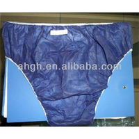 panty for men or male dark blue