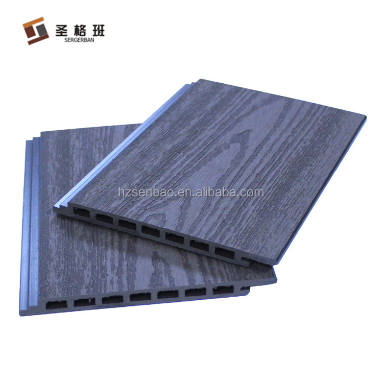 Composite wall cladding / exterior wpc wall panel / decorative wall siding