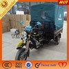 Chinese gearbox gasoline 3 wheel cargo tricycle general cargo ship for sale