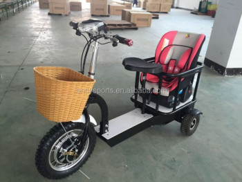 sdn adult new electric 3 wheel mother scooters with kids. Black Bedroom Furniture Sets. Home Design Ideas