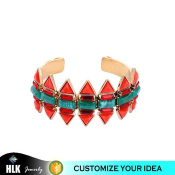 The European and American Style Fashion Accessories Joker Symmetry Restoring Ancient Ways Ms Ruby Crystal Bracelet