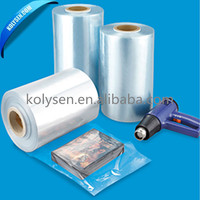 High quality PVC Shrink Film wrap rolls for label printing&packing