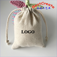 High quality recyclable drawstring custom cotton linen lavender bags with personal logo