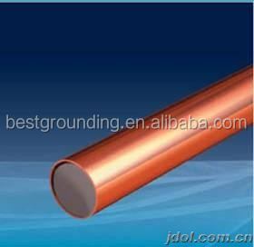 high quality 8mm copper clad steel wire rod with copper thickness 0.5mm