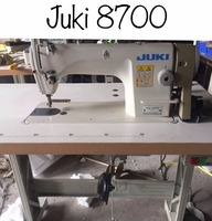 Second hand 80% new Juki 8700 lockstitch sewing machine in good condition