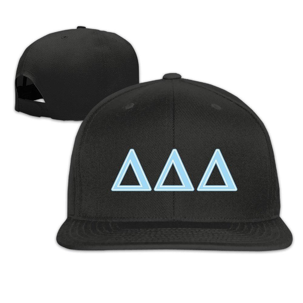 Adjustable Size Cotton Baseball Caps Hat Delta Delta Delta Sorority