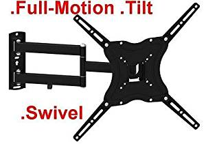 Full Motion TV Wall Mount articulate Bracket 32 42 46 inch LED LCD Flat Screen