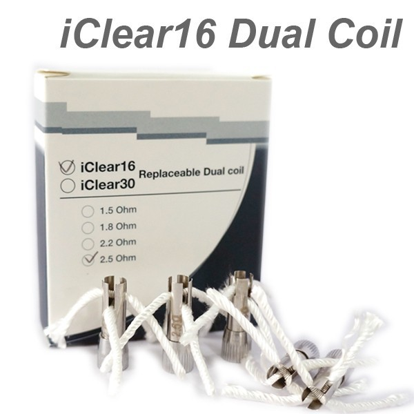 Wholesale New Arrival Electronic Cigarette Innokin iclear 16 rotatable Dual Coil
