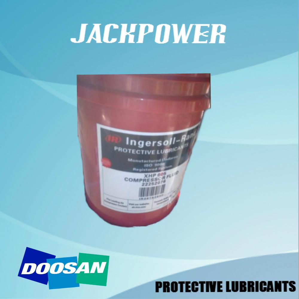 Oil Doosan Protective Lubricants Xhp 605 Compressor Fluid Air ...