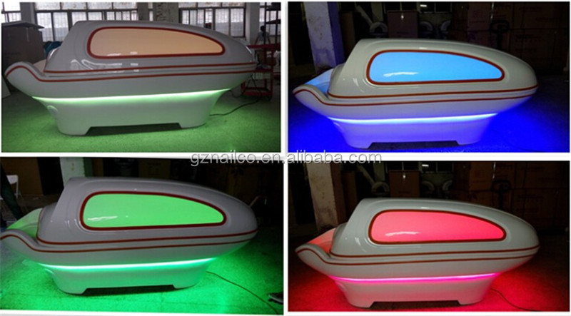 Bigger Size Far Infrared Sauna /led Light Therapy Bed For Full ...