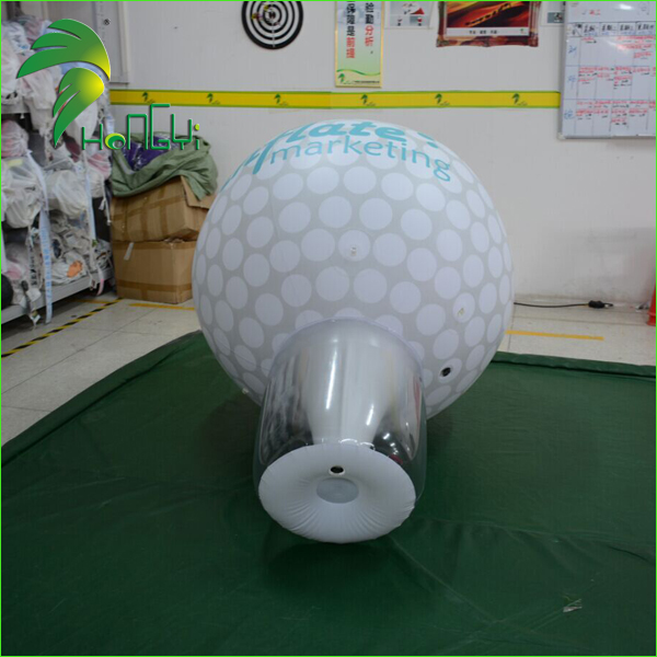 Standing Commercial Display Giant Sports Factory Inflatable Golf Ball Balloons Model