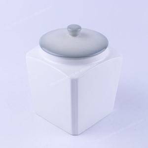 Plain White Ceramic Cookie Jar Supplieranufacturers At Alibaba