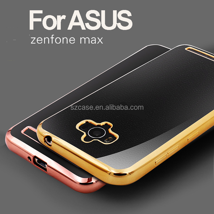 High quality tpu electroplating case For Asus ZenFone Max case Phone accessory for Asus ZenFone Max