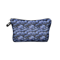 016 New Fashion 3D Printing Women Cosmetic Bags With Food Pattern for Traveling easy taking