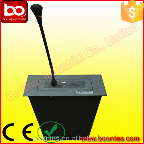 Aluminum Motorized Microphone Lift for Voting Conference System