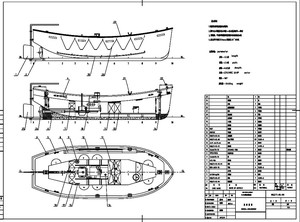 Marine Used Open Lifeboat Marine Used Open Lifeboat Suppliers And