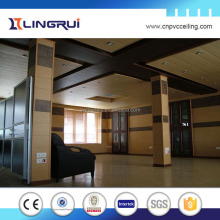 china suppliers interior decoration suspended ceiling wooden wall panels lamination design
