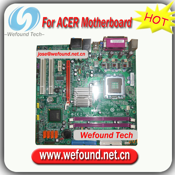 Acer eg31m motherboard manual.