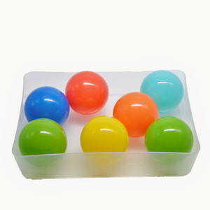 High Quality Plastic Bouncing Ball Plastic Pit Ball Mixed