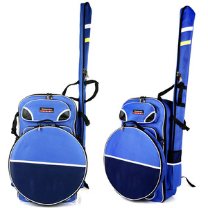 b82bf0d5b774 Custom nylon mesh fishing tackle backpack waterproof shoulder rod bag