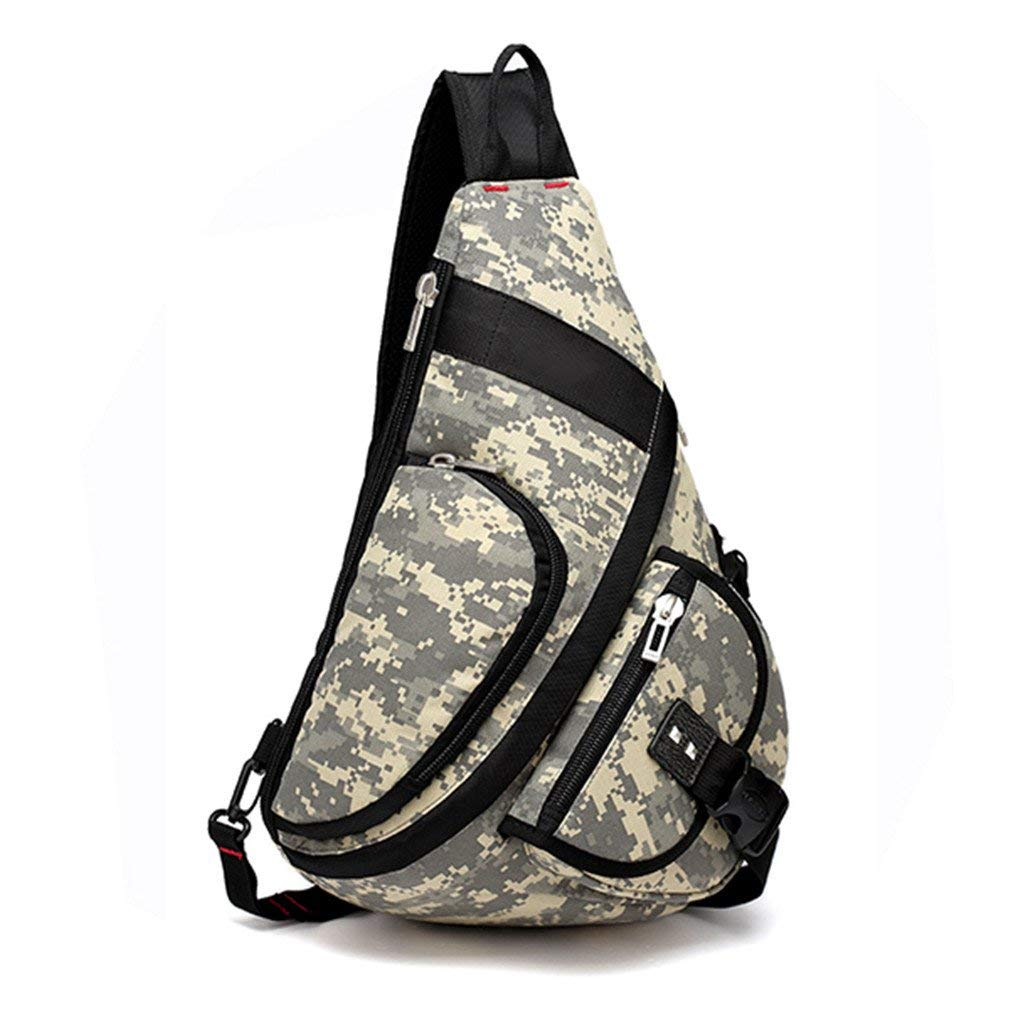 da1d72fba4e3 Buy KIOESLKC Casual Camouflage Chest Bag MultifunctionOxford Chest ...