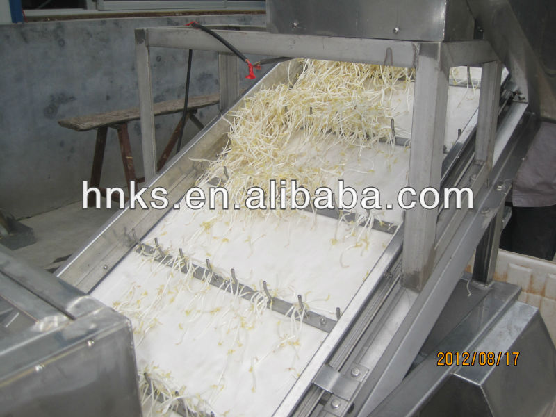 Automatic bean sprout machine/industrial mung bean sprout shelling and washing machine with cheap price