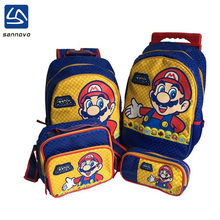 sannovo Hong Kong fair fashion super mario school bag set