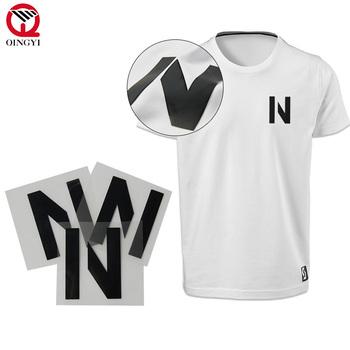7fe1aa1c Qingyi custom silicone printing 3d heat transfer garment labels ...
