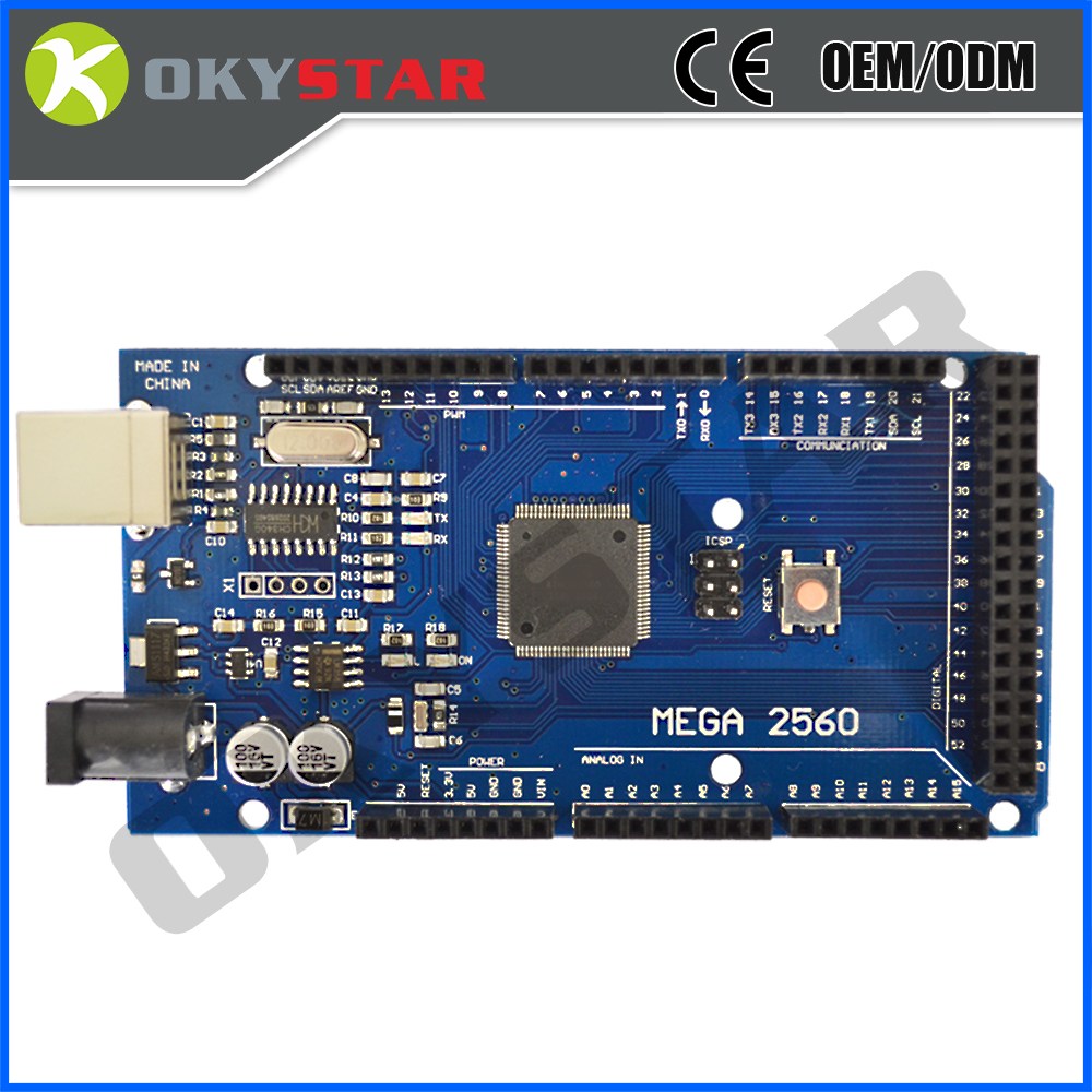 CH340G Original Board with USB cable ATmega 2560