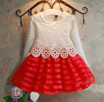 Baby Party Dress Handmade Baby Crochet Lace Dress Lovely Kids Gown
